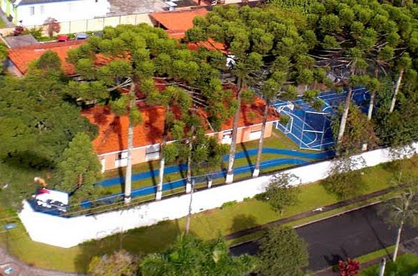 Visão Aérea - Clínica Dependência Química Curitiba