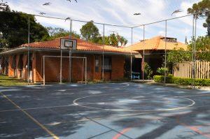 Quadra de esportes - Clínica Dependência Química Curitiba